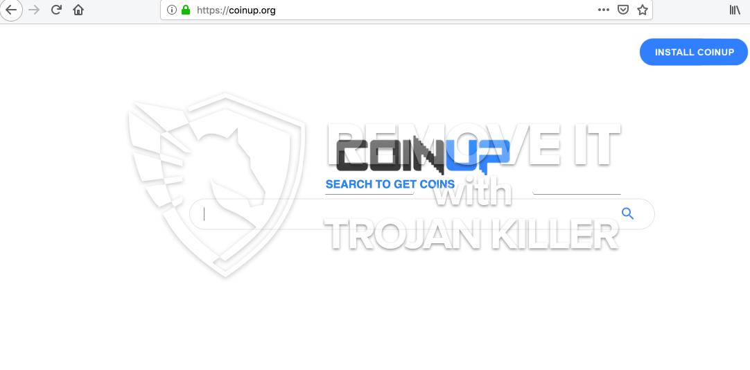 Coinup.org virus