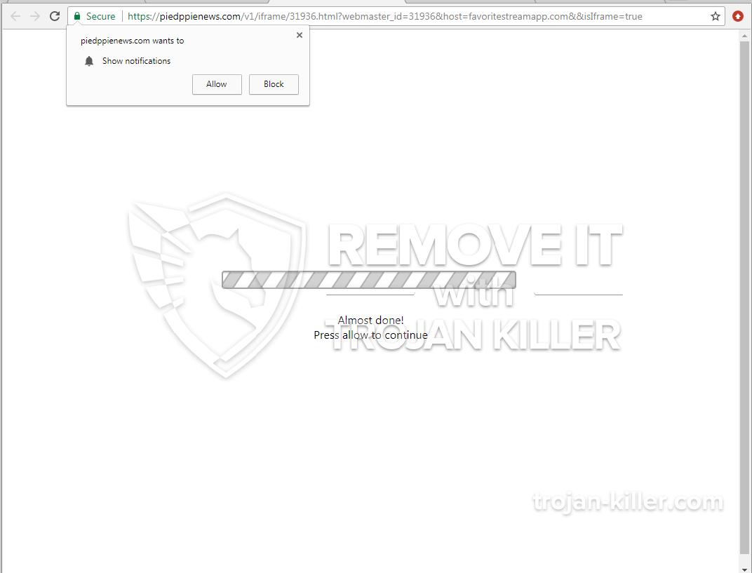 Piedppienews.com virus
