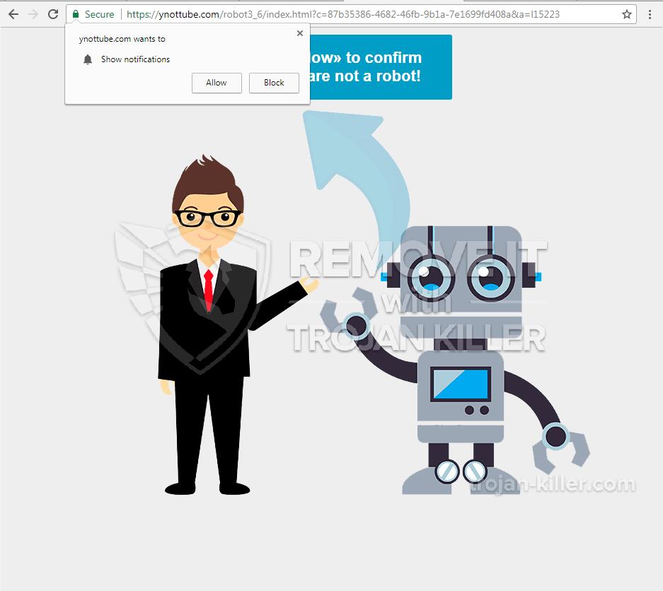 Ynottube.com virus