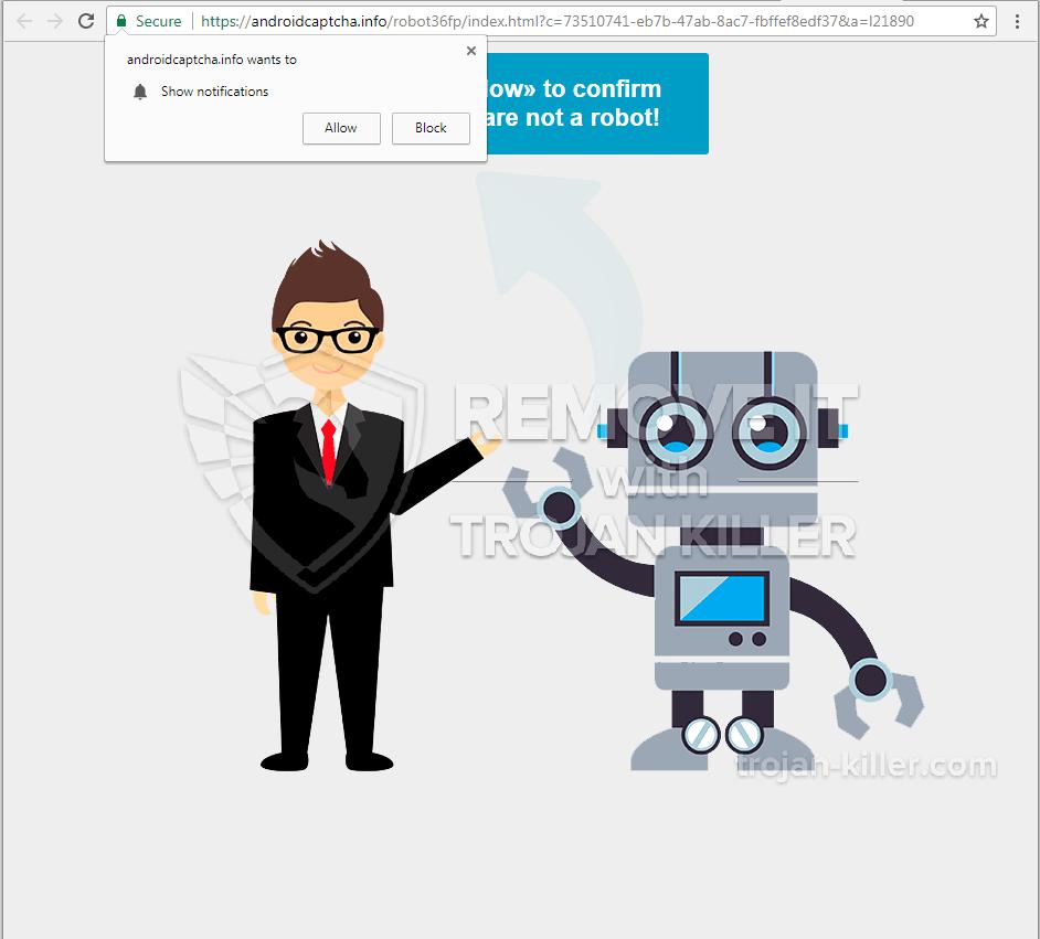 androidcaptcha.info Virus
