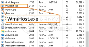 Remover WmiHost.exe Miner Trojan
