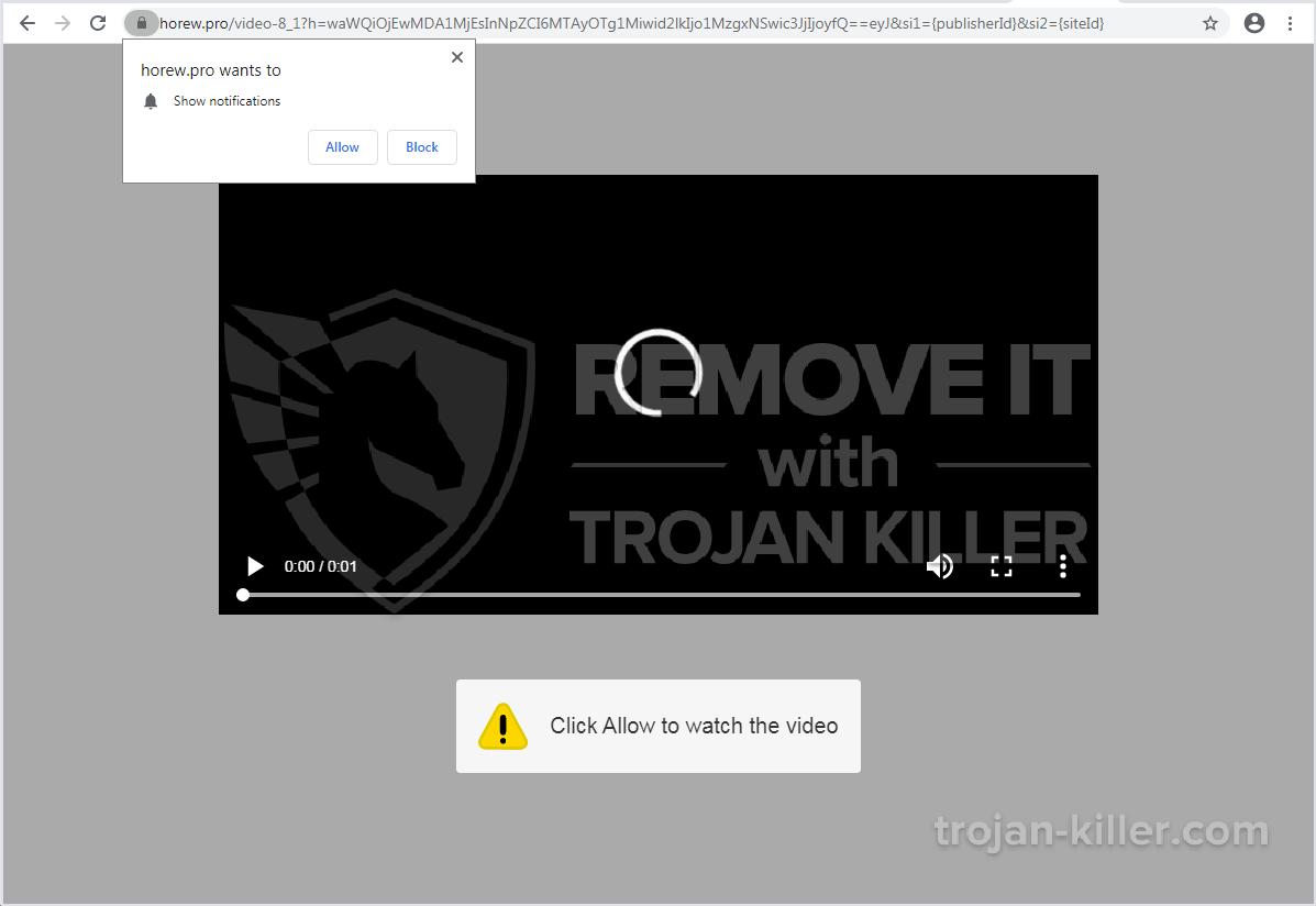 Horew.pro virus