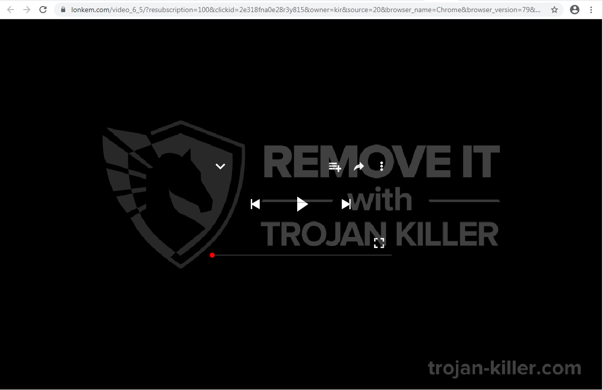 vírus Lonkem.com