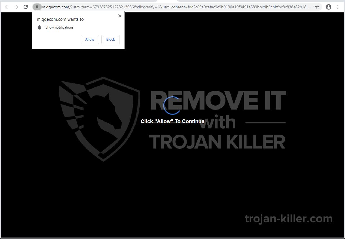 Qqecom.com virus