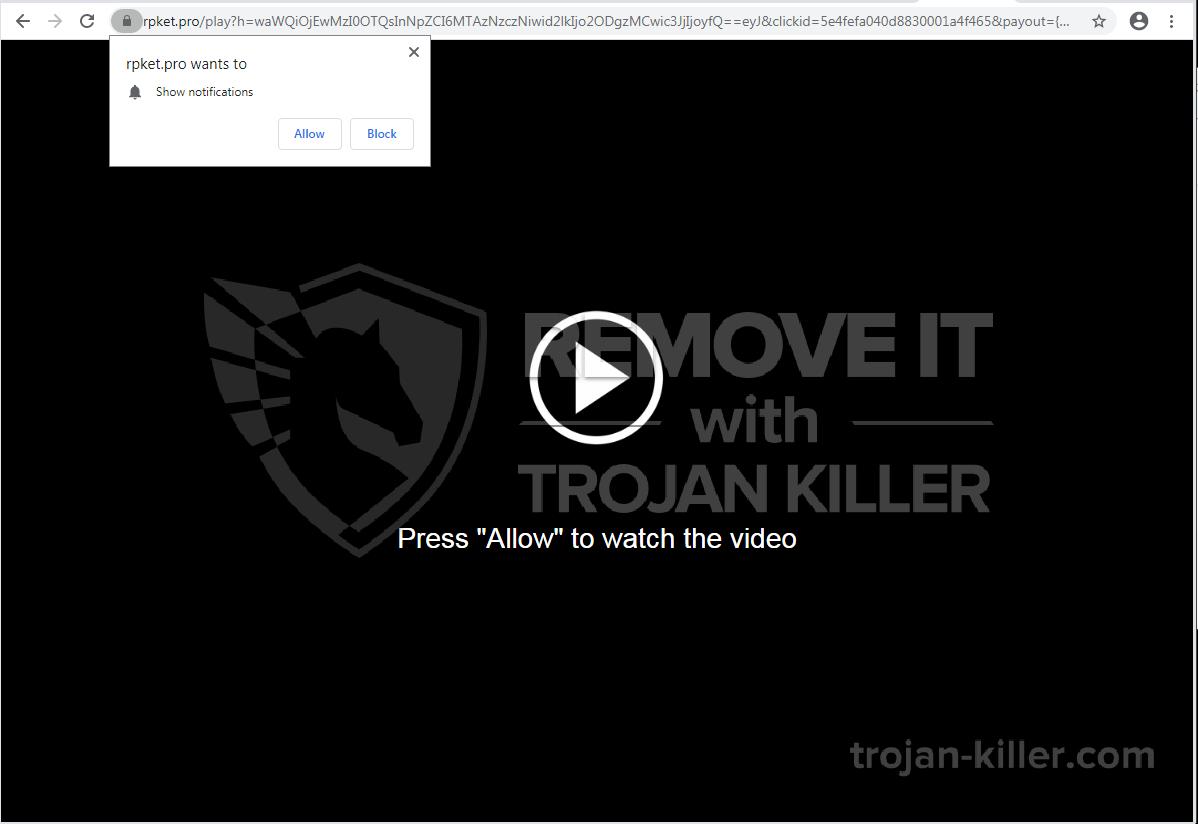 Rpket.pro virus