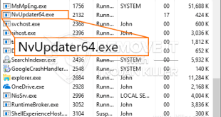 How to remove NvUpdater64.exe CPU Miner Trojan