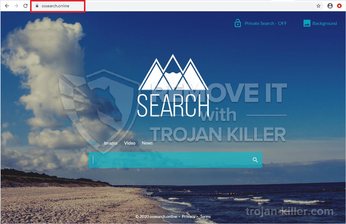 Vírus Ossearch.online