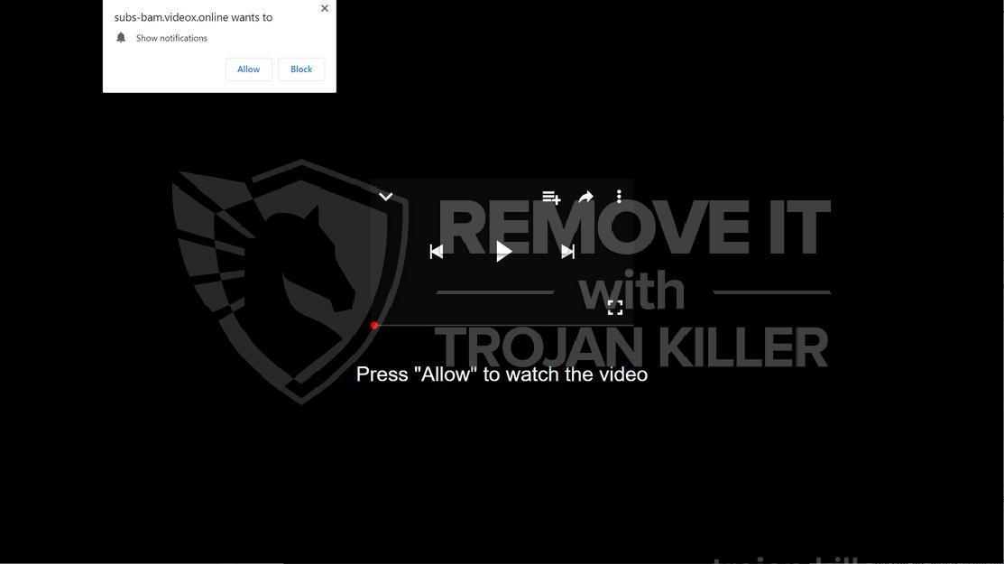 Videox.online virus