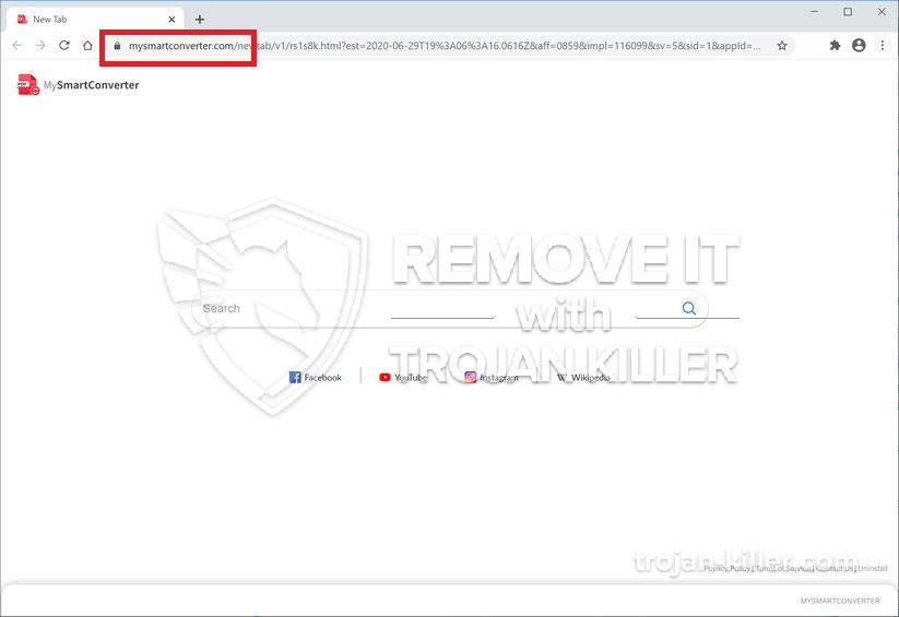 Mysmartconverter.com virus