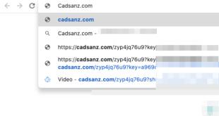 Redirecionamento de Cadsanz.com (guia de remoção).