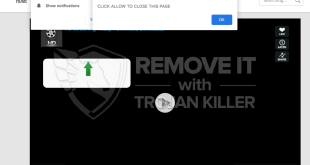 How to remove Calridiumb.club Show notifications