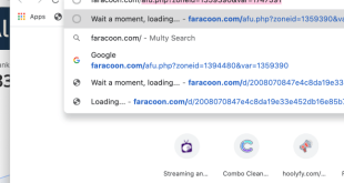 How to remove the faracoon.com redirect virus?