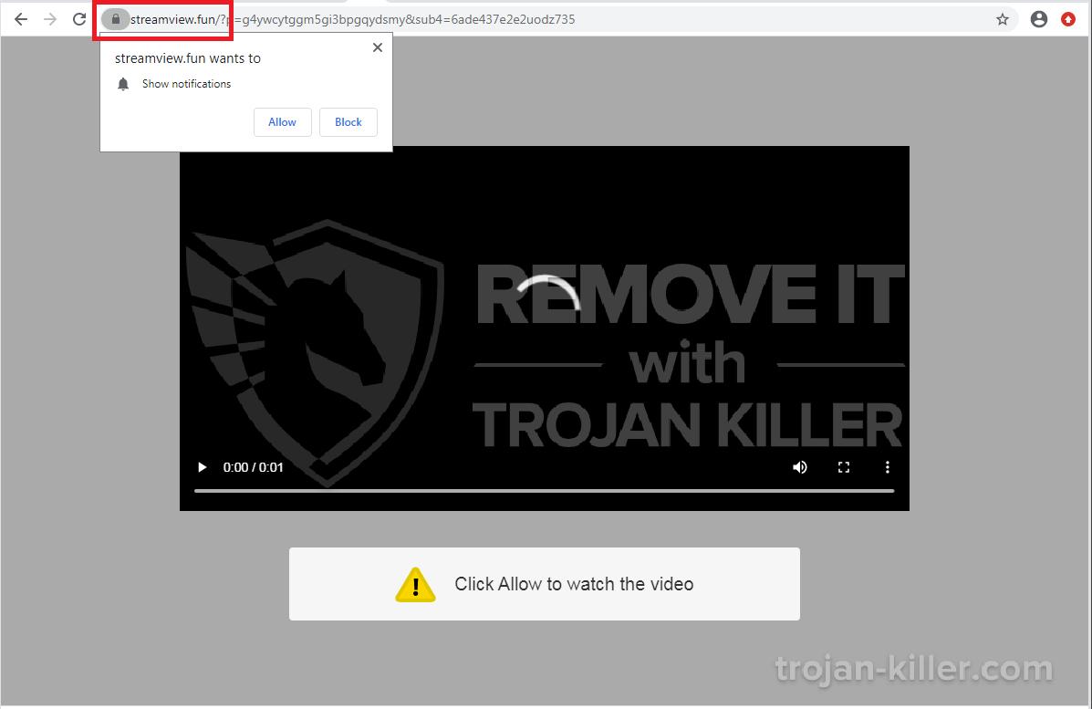 Streamview.fun virus