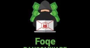 Foqe 바이러스 랜섬웨어 제거 (+파일 복구)