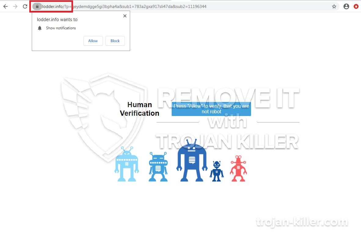 Lodder.info virus