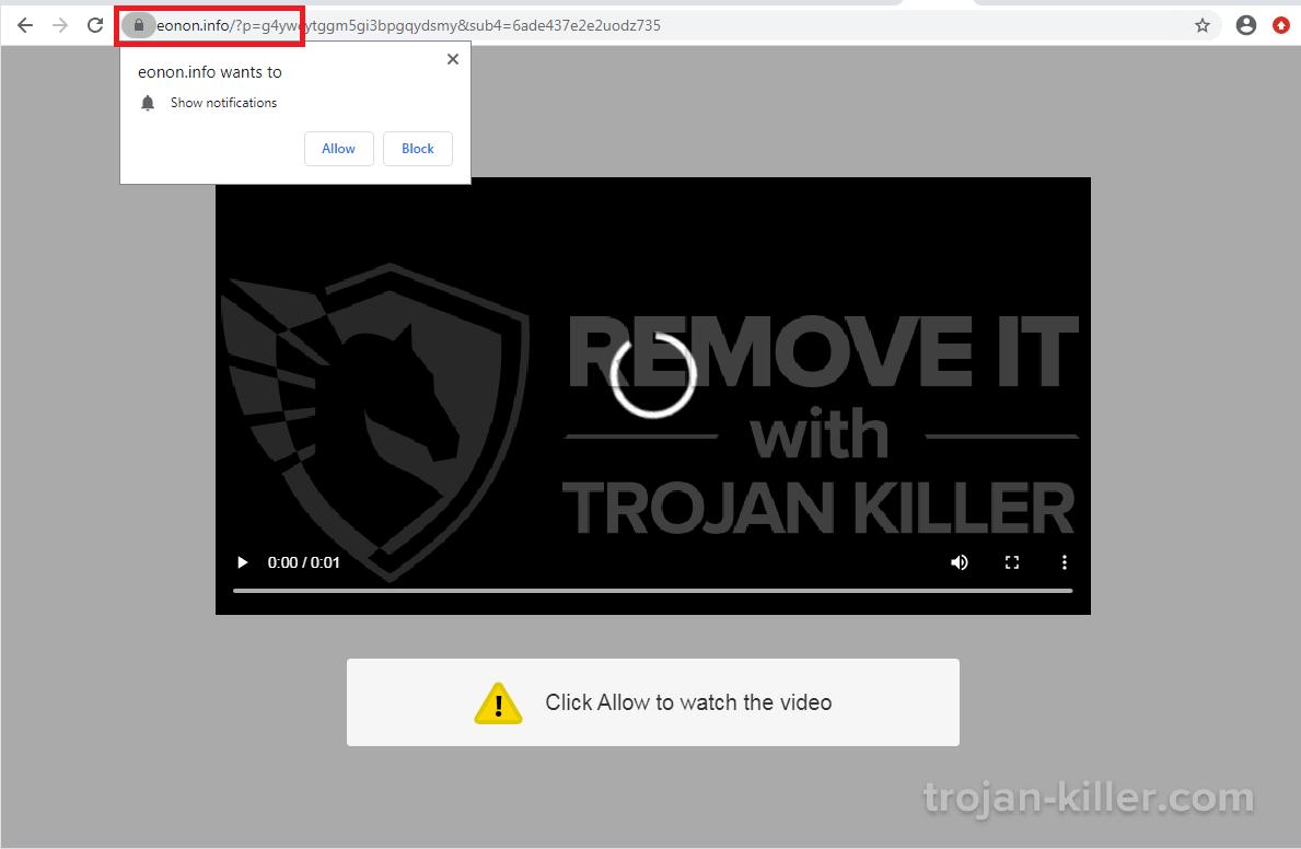 Eonon.info virus