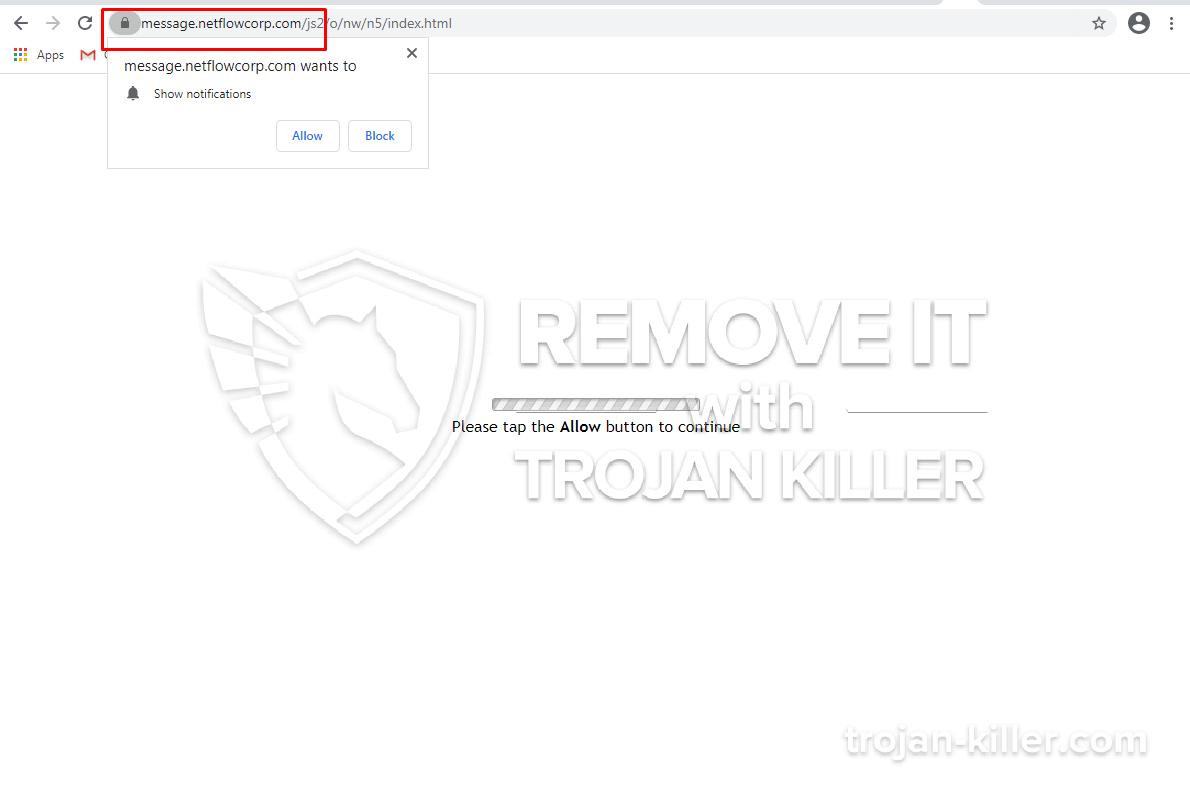 Netflowcorp.com virus