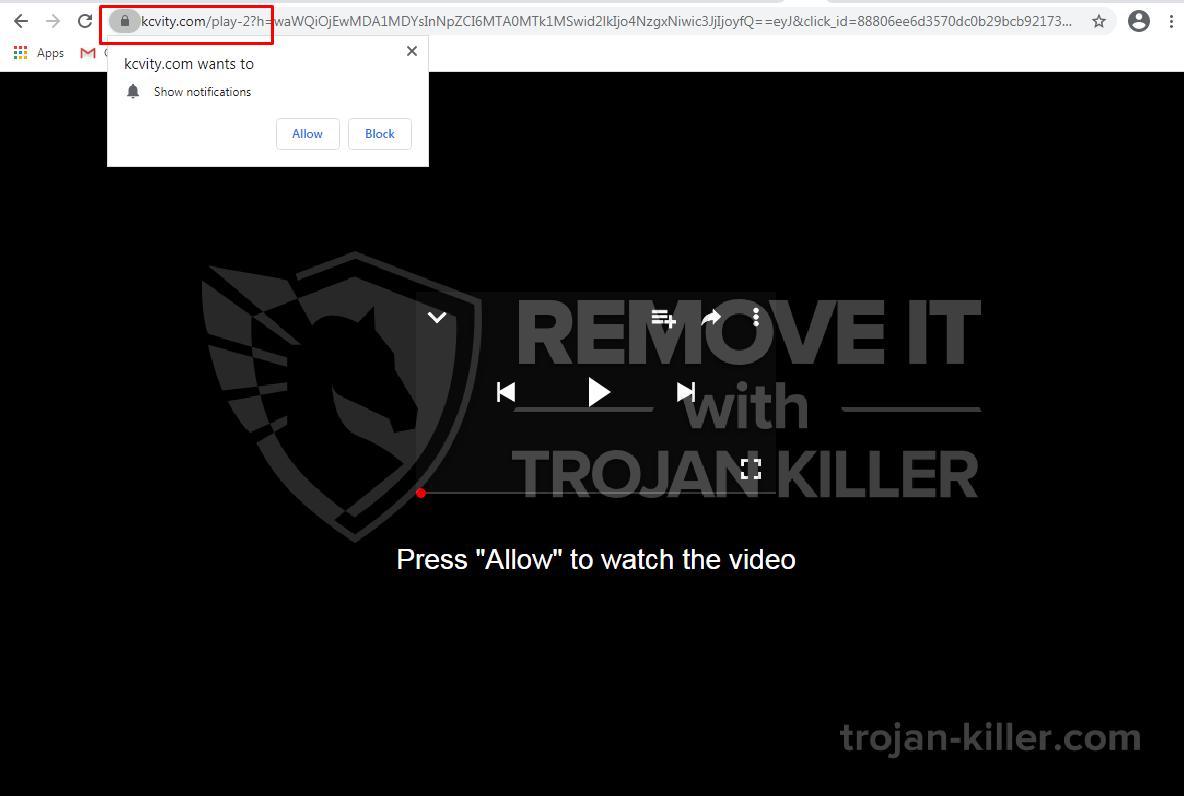 Kcvity.com virus