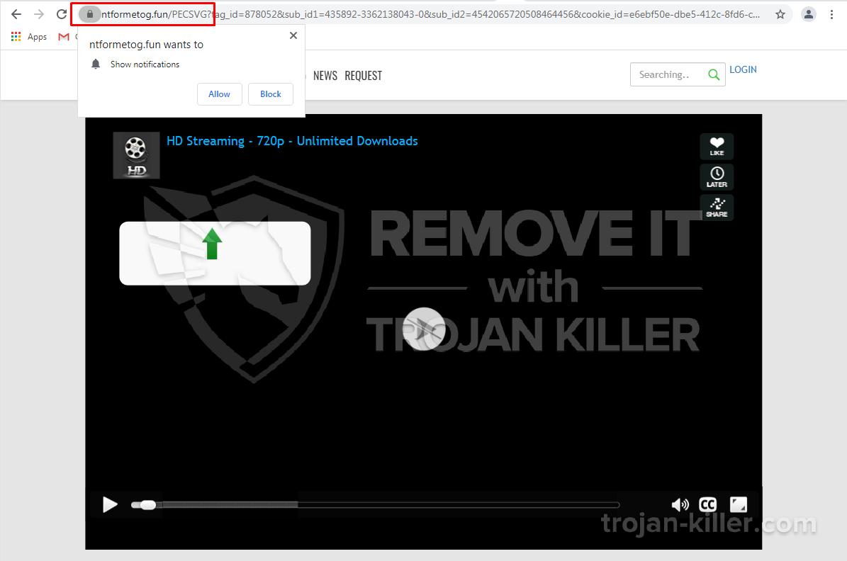 Ntformetog.fun virus