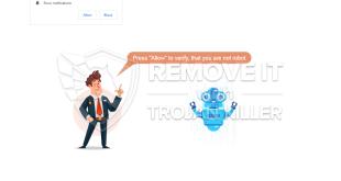 Entfernen Sie Verifyrobot.info-Benachrichtigungen