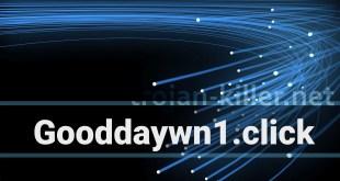 Verwijder Gooddaywn1.klik Toon meldingen