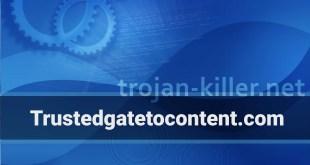 Remove Trustedgatetocontent.com Show notifications