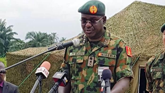Buratai decries soldiers' nonchalant attitude affecting insurgency war