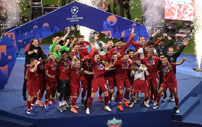 Liverpool earn €108m for winning UEFA Champions League title