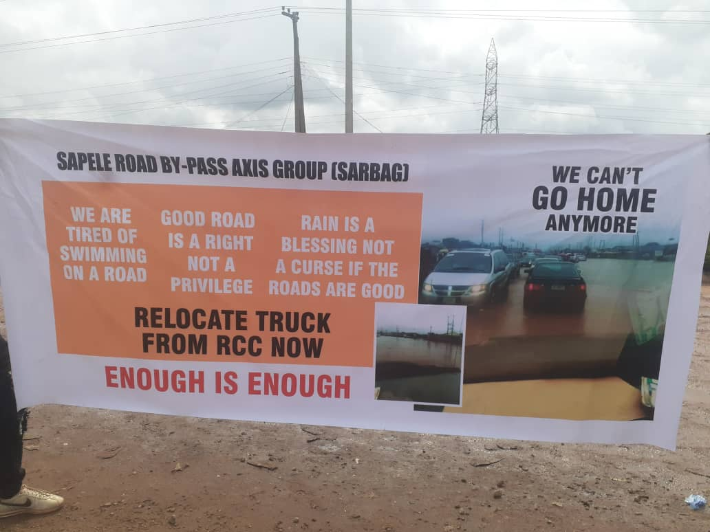 Benin Communities Call On Obaseki, FG, Dangote To Fix Fail Road As Pregnant Women Gives Birth On The Spot After Five Hours
