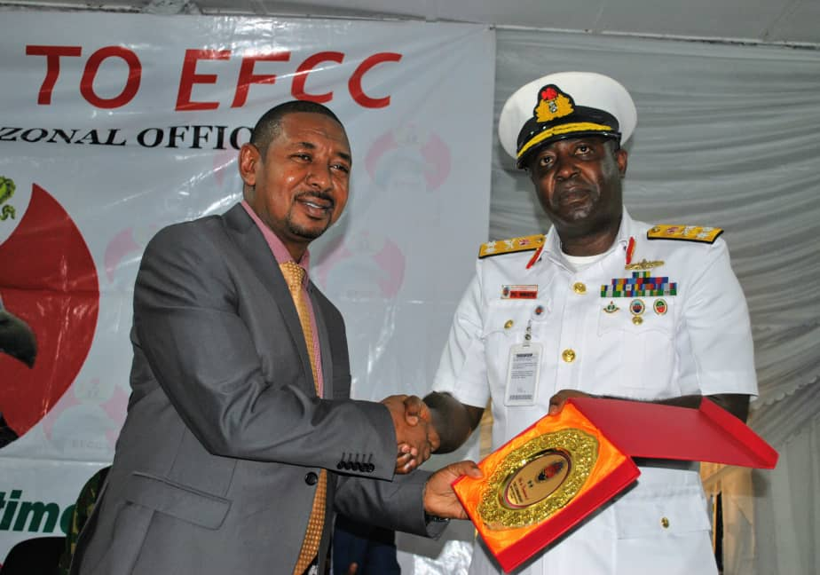 EFCC, Navy's Collaboration Crucial In Tackling Illegal Oil Bunkering- Official