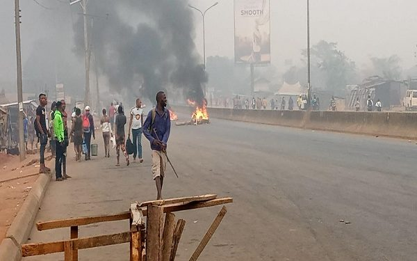 Protesters Barricade Benin-Abuja Road Over Kidnapping