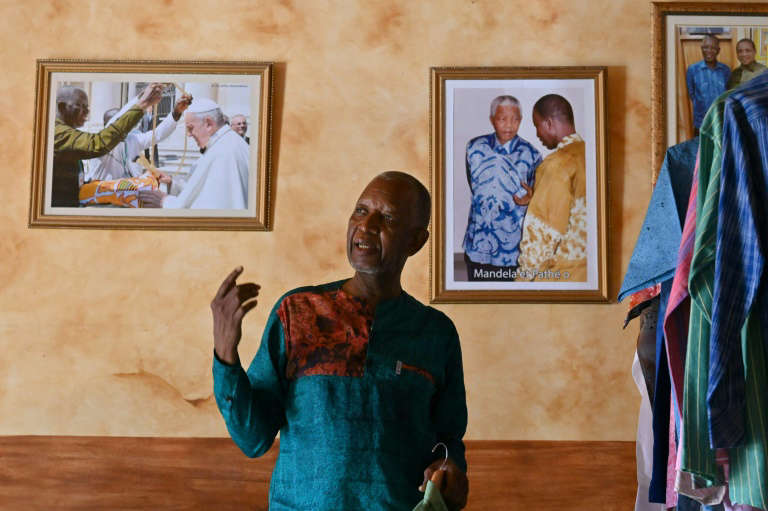 Mandela's Tailor On Mission To Boost African Fashion