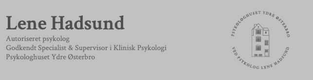Lene Hadsund psykolog