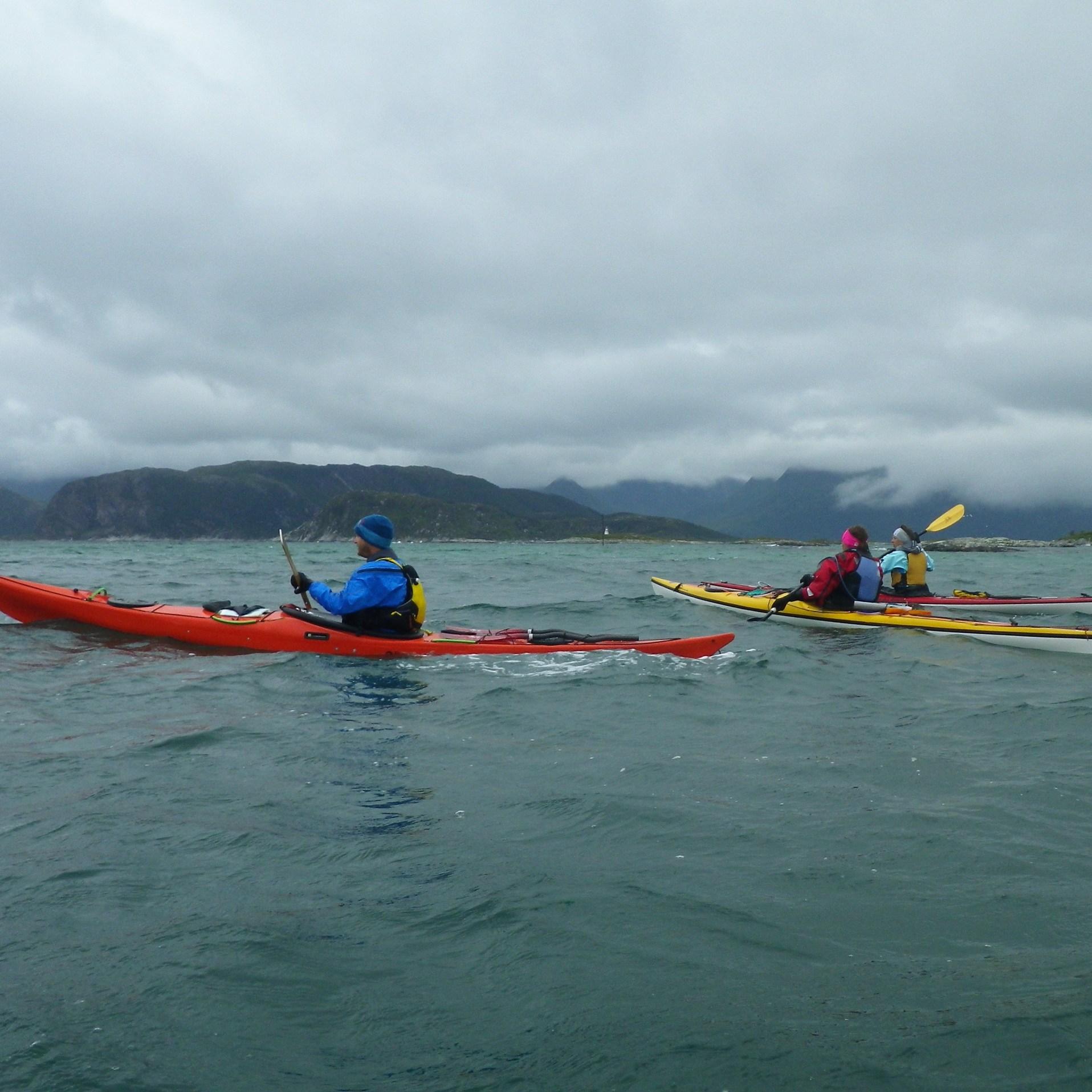 litt bølger søndag - før vi kom i de store bølgene.. Foto: Tor Johansen