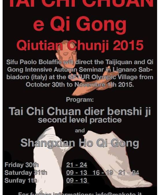 Deltakelse på Tai Chi Maraton