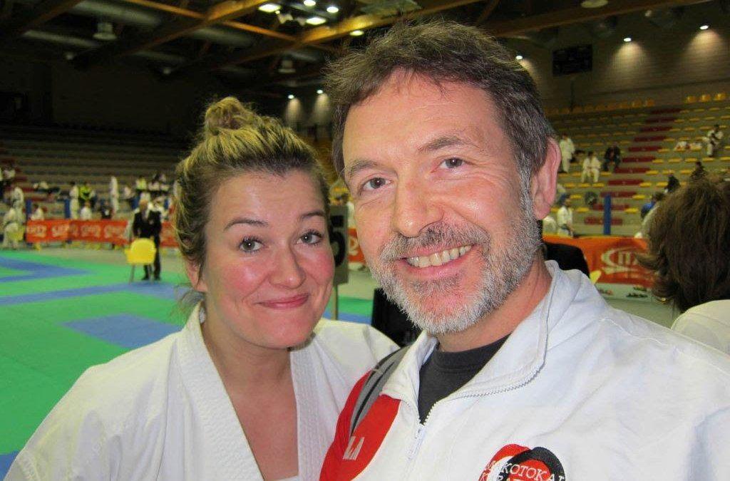 Elisabeth Schei deltok i World Cup i Lignano helgen 20-22.nov 2015