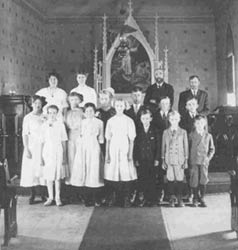 Sunday School Class, about 1912