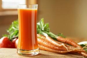 Nước ép cà rốt có chúa hàm lương beta-carotene cao