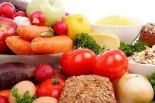 rau,củ,quả,ngũ cốc là những loại thực phẩm giàu chất xơ