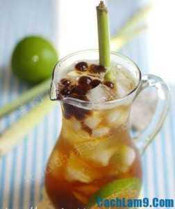 Công thức pha chế trà chanh sả gừng thơm ngon, bổ dưỡng cực đơn giản