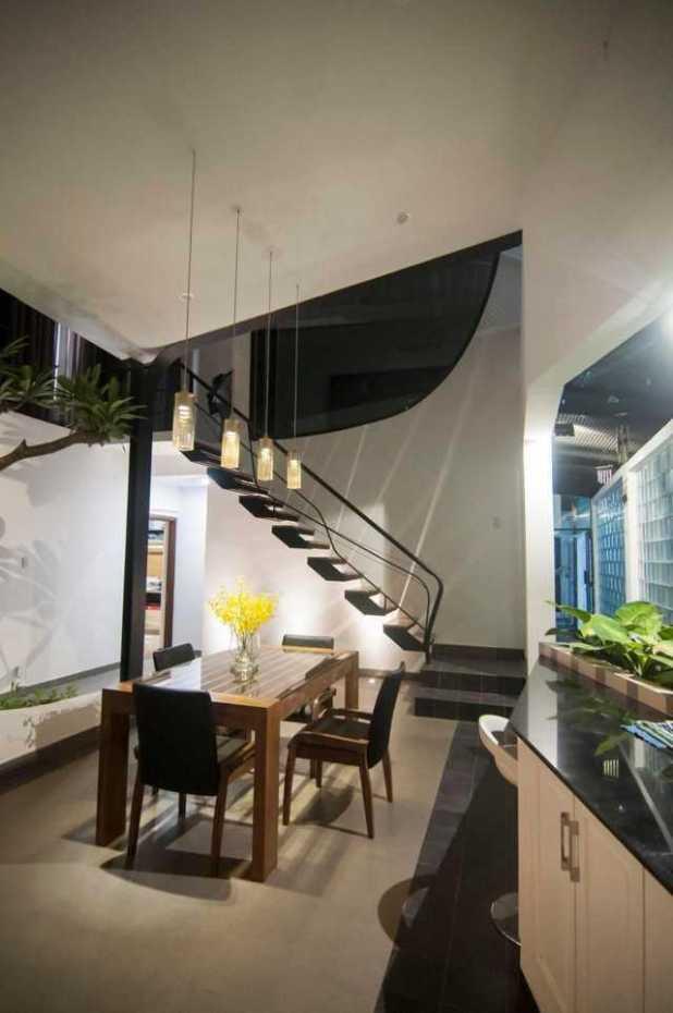Nội thất ngôi nhà đơn giản mà tiện nghi với những điểm nhấn tinh tế.