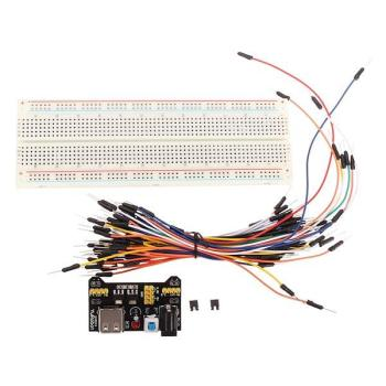 MB-102 MB102 Solderless Breadboard + Power Supply + Jumper Cable Kits Dupont Wire