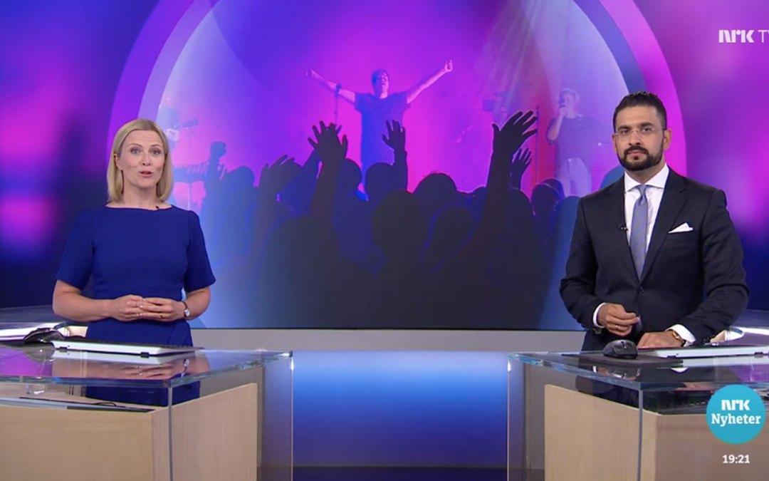 Sommerens ros går til Dagsrevyen på NRK for reportasje fra Oase