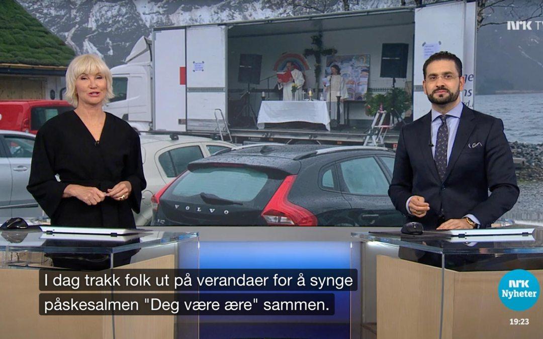 Ukas ros går til NRK for deres gode dekning av påskehøytida