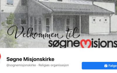 Ukas ros går til Søgne Misjonskirke
