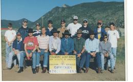 Troop 5 Scouts at Philmont Cavalcade 1993