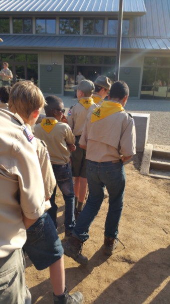 Hungry Scouts