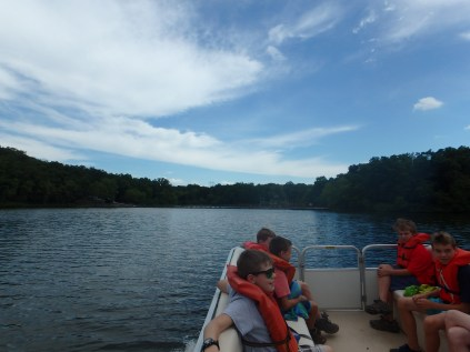 Boat Ride to Huck's Cove