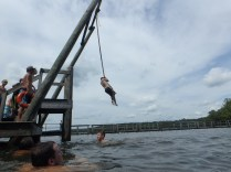 Huck's Cove Rope Swing