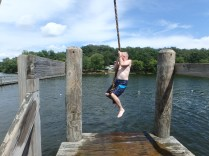Huck's Cove Rope Swing - Mr Birtley